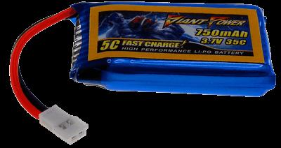 3.7V 750mAh 35/70C Akumulator RC LiPo Walkera (Micro Losi)