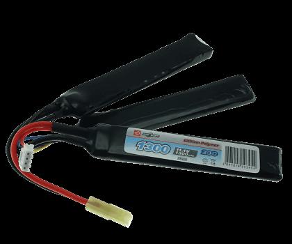 11.1V 1300mAh 25C Akumulator LiPo (Cranestock) Airsoft