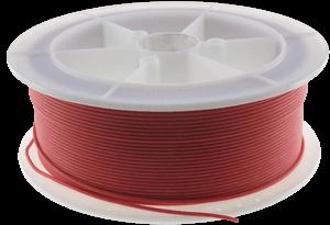 Kabel Silikonowy Czerwony RC 20AWG