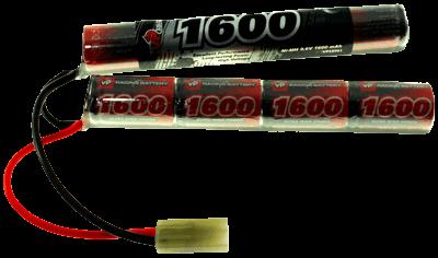 9.6V 1600mAh Pakiet akumulatorów ASG NiMH 2/3A (Nunchaku)