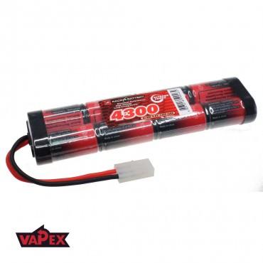 9.6V 4300mAh Pakiet akumulatorów RC NiMH SC (4+4) VapexTech