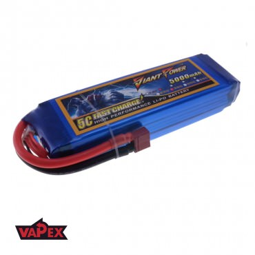 11.1V 5000mAh 35/70C Akumulator RC LiPo Giant Power