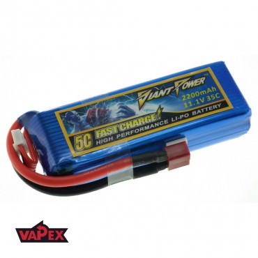 11.1V 2200mAh 35/70C Akumulator RC LiPo Giant Power