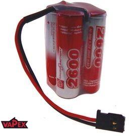 4.8V 2600mAh Pakiet akumulatorów RC NiMH AA (Kostka) VapexTech