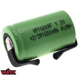 Akumulator Ogniwo 1.2V 1600mAh Ni-Mh 2/3 A - Blaszki