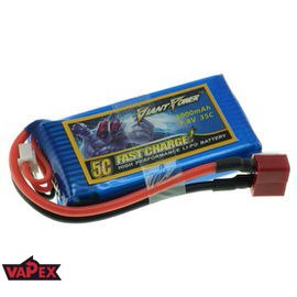 7.4V 1000mAh 35/70C Akumulator RC LiPo Giant Power