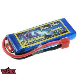 7.4V 1500mAh 35/70C Akumulator RC LiPo Giant Power