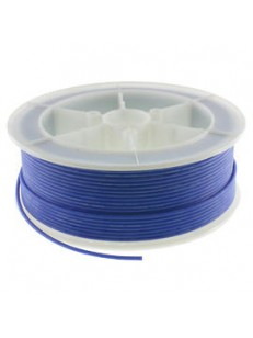 Kabel Ciepłoodporny Silikonowy 20AWG (0.5mm2) Czarny Airsoft RC - 1m