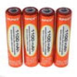 4 x AAA NiMH 1100mAh Rechargeable Batteries VapexTech
