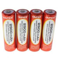 4 x AA NiMH 2900mAh Rechargeable Batteries VapexTech