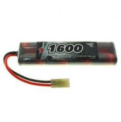9.6V 1600mAh 2/3A NiMH Airsoft Mini Battery Pack VapexTech