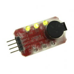 LED status indicator & alarm for 2-3S (7.4 - 11.1V) LiPO Battery