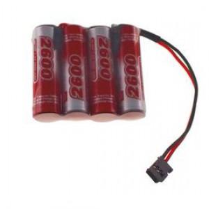 4.8V 2600mAh Pakiet akumulatorów RC NiMH AA (Płaski) VapexTech