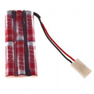 7.2V 2600mAh Pakiet akumulatorów RC NiMH AA (3+3) VapexTech