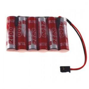 7.2V 2600mAh Pakiet akumulatorów RC NiMh AA (Płaski) VapexTech