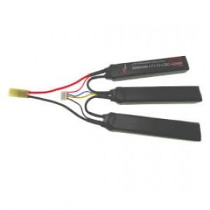 11.1V 2600mAh 25/50C Airsoft Cranestock LiPo Battery VapexTech