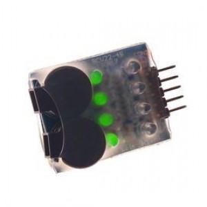Buzzer Alarm Wskaźnik Napięcia Baterii RC Airsoft LiPO 7.4V-14.8V 2-4S