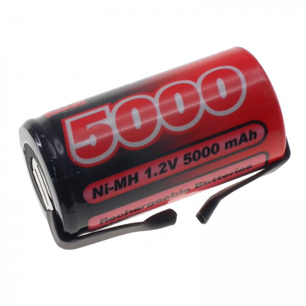 1.2V 5000mAh SC NiMH Single Cell Rechargeable Battery with Tags Vapex