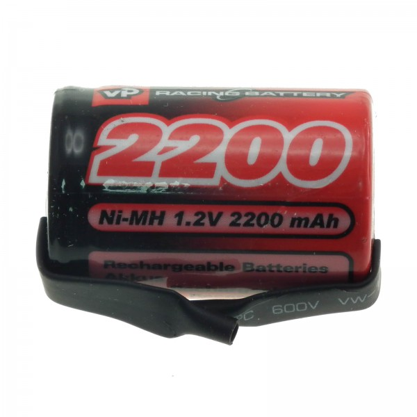 1.2V 2200mAh 4/5 SC NiMH Single Cell Battery with Tags VapexTech