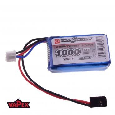 6.6V 1000mAh 3C/6C Akumulator RC LiFePO4 VapexTech