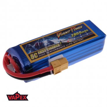11.1V 2800mAh 25/50C Akumulator RC LiPo Giant Power