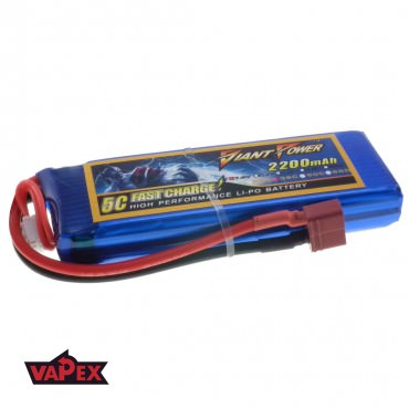 7.4V 2200mAh 35/70C Akumulator RC LiPo Giant Power