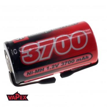 Akumulator Ogniwo 1.2V 3700mAh Ni-Mh SubC (SC) - Blaszki