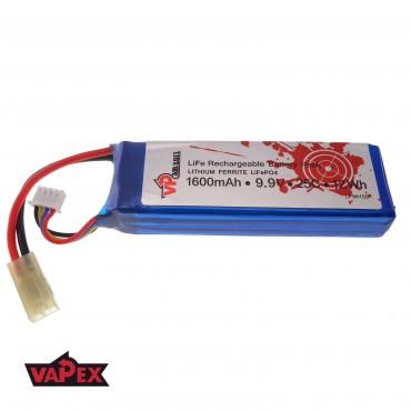 9.9V 1600mAh 25C/50C Akumulator RC LiFePO4 VapexTech