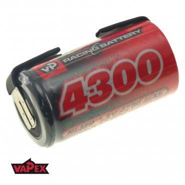 Akumulator Ogniwo 1.2V 4300mAh Ni-Mh SubC (SC) - Blaszki