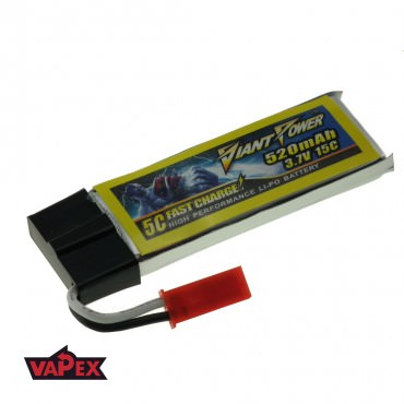 3.7V 520mAh 15/30C Akumulator RC LiPO Giant Power