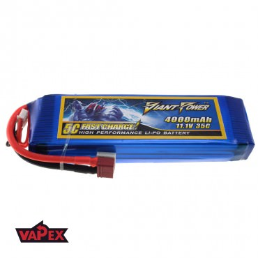 11.1V 4000mAh 35/70C Akumulator RC LiPO Giant Power
