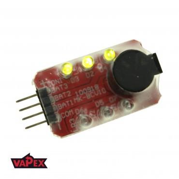 Buzzer Alarm Wskaźnik Napięcia Baterii RC Airsoft LiPO 7.4V-11.1V 2-3S