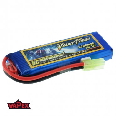7.4V 2200mAh 35/70C Akumulator Airsoft LiPO Giant Power