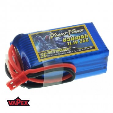 11.1V 850mAh 25/50C Akumulator RC LiPO Giant Power