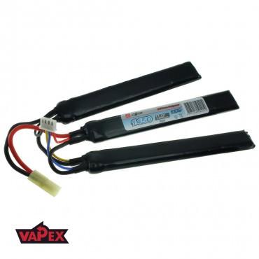 11.1V 1450mAh 20/40C Akumulator Airsoft LiPO (Cranestock) VapexTech
