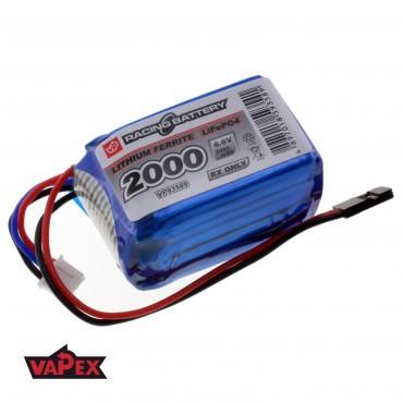 6.6V 2000mAh 3C/6C Akumulator RC LiFePO4 VapexTech