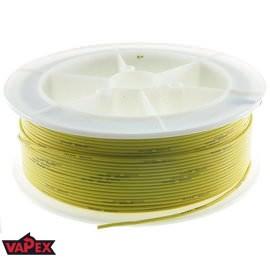 Kabel Ciepłoodporny Silikonowy 22AWG (0.33mm2) Żółty Airsoft RC - 1m