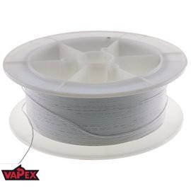 Kabel Ciepłoodporny Silikonowy 20AWG (0.5mm2) Biały Airsoft RC - 1m