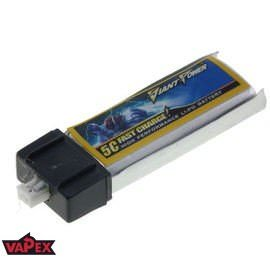 3.7V 130mAh 15/30C Akumulator RC LiPo e-flite MCX Giant Power
