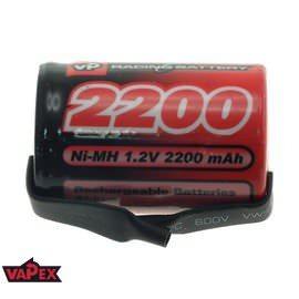 Akumulator Ogniwo 1.2V 2200mAh Ni-MH 4/5 SubC (SC) - Blaszki