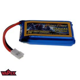 3.7V 750mAh 35/70C Akumulator RC LiPo Walkera (Micro Losi) Giant Power