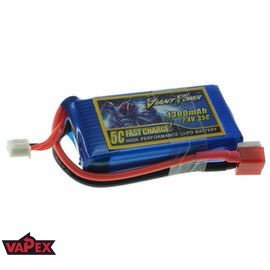 7.4V 1300mAh 35/70C Akumulator RC LiPo Giant Power