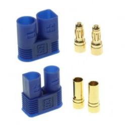 Pozłacany Wtyk złącze RC EC3 para 3.5mm (męski + żeński)