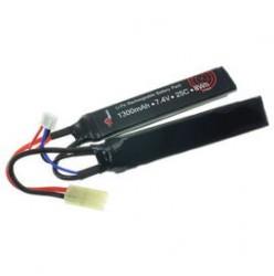 7.4V 1300mAh 25/50C Akumulator Airsoft LiPo (Cranestock) VapexTech